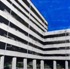 Tracy Fitzgerald, 'Office Building' , Oil on Board